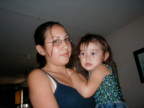 Stefanie & Alliah - Aug 5, 2001