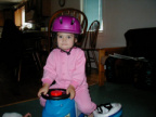 New Helmet - July 2, 2001