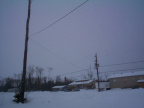 It was evening and real snowy when I took these pictures.