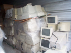 July 30 - all the remaining monitors are now in the KO storage shed