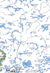 Another map of the lakes and rivers in the area