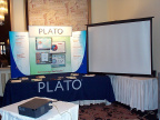 PLATO a BRONZE sponsor of the conference provided an opportunity to check out their courseware