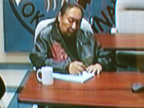 Elijah Harper visits KO's Balmertown office - Aug 19, 2004