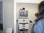Telemedicine suite installed at the Fort Severn Nursing Station (Jan 16-18, 2002)