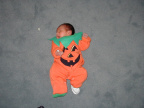 First Halloween - October 31, 2002