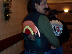 Chief Albert James and his new vest