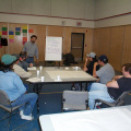 Thats Ricardo at the front.Recapping the weeks workshop.