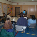 Here is the rest of the staff with Darrin Potter joining us for the video conferencing. Balmertown joined us later.