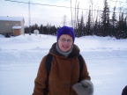 This is Dr. Edye, a Psychiatrist from Winnipeg Manitoba. She will be working with the Keewaywin and the surrounding communities.