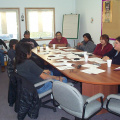 Lac Seul First Nation members showed a lot of interest in learning about small business development strategies