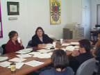 The final session saw local Sioux Lookout agencies participating in the session in the SLAAMB board room.
