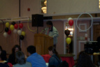 NAN Deputy Grand Chief Goyce Kakegamic spoke to the youth at the Achievement Awards
