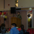 Guest speaker Susan Aglukark applauded the career fair and the youth