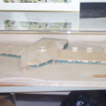 Model of the new Deer Lake school that is now under construction