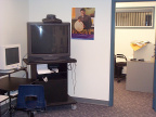 Workstation, IP video conferencing unit and office at the e-Centre