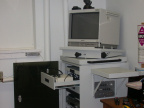 Installing the Adcom Telemedicine suite in the Clinic at the Zone Hospital - Jan 9, 2002