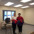 Nancy Muller, RN and Michelle DesRoches, RD from Red Lake Margaret Cochenour Memorial Hospital facilitators for the one day Diab