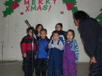 Kindergarden Class singing Merry Christmas
