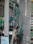 Network wiring of the rack at NOTC.
