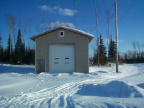 This is the Keewaywin firehall.