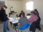 Here are the participants in their first day of their workshop.