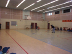 Target shooting,floor hockey.