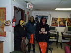 here we have some of our trick or treaters coming to the ecentre