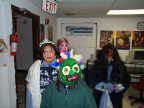 these are just some of the Trick or treaters that came into the ecentre