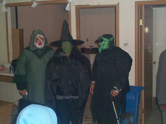 As you can see there were various types of different costumes to see.