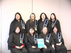 20003 Graduates of the ACSW Program Back left:Dorothy Meekis-Deer Lake First Nation,Sara Jane Cromarty-Wunnumin Lake First Natio