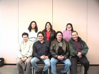 ACSWP Avisory Committee from back left,Georgette O'Nabigon-Matawa First Nations,Rolelee Davis-Shibogama First Nations Council,Ro
