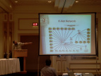 Dan Pellerin gives a presentation about Knets Network