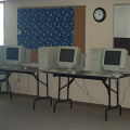 These are the three computers that the school purchased through the comprehensive needs assesment survey.