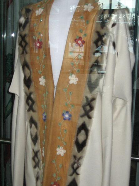 The Speaker's gown at the Legislature Building (see http://www.assembly.gov.nt.ca for m