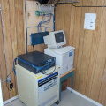The Band Office, Nursing Station, KIHS classroom and school are fed via ethernet.