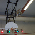 We even had the disco ball up on top. And this concludes another evening of entertainment for Keewaywin. Look for more pictures