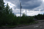 pole across street from proposed site if nearer pole is not suitable to pull power from