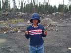 This is Atayafie Campbell with some Black Spruce.