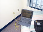 It works! High speed internet access at the North Spirit Lake Nursing Station residence.