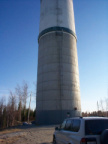 Pickle Lake water tower.