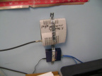 Poplar Hill school - cable modem and switch