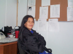 Rebecca Suggashie Community Worker for Poplar Hill First Nation.