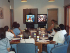 Videoconference session with Timmins Telehealth centre