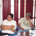 James Kakepetum (Keewaywin) & Homer Meekis (North Spirit Lake) - Health Directors
