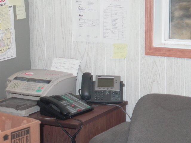 Second of 4 IP phones in Chief_'s Office